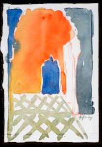 Im Bahia Palast | Aquarell auf Büttenpapier | circa 17 x 13 cm | 2018